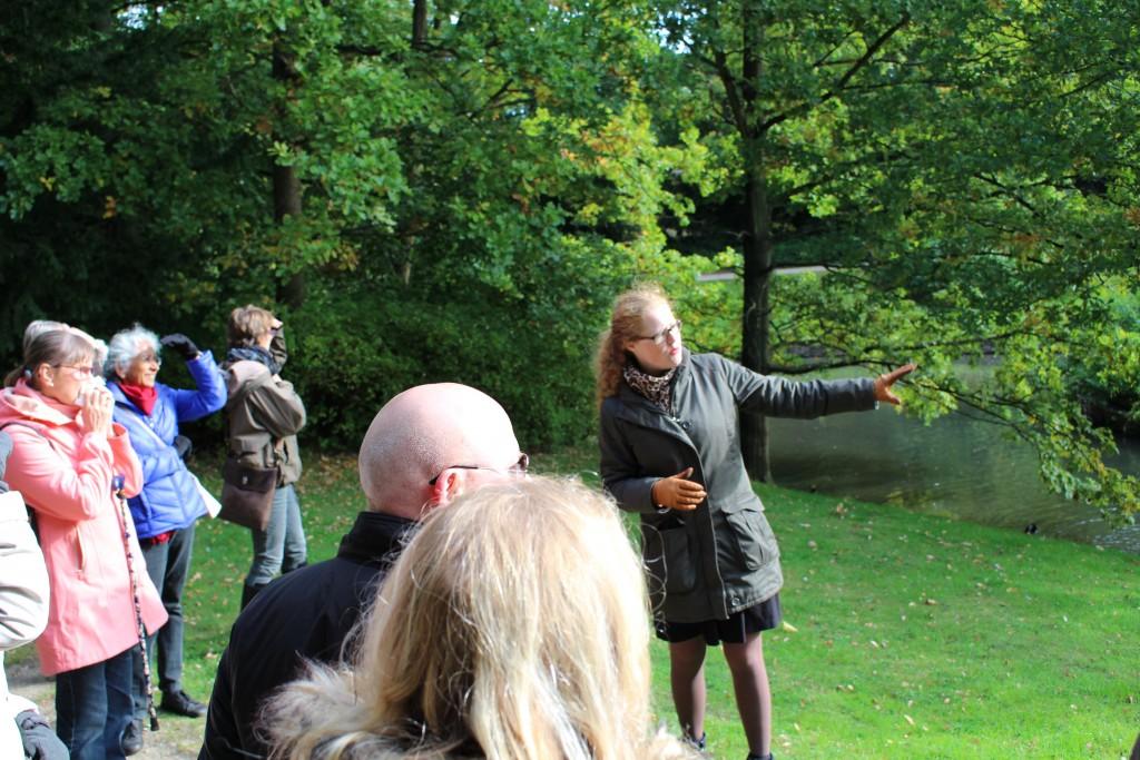 Birgitte Zacho, Havevandring i Frederiksberg Have, omvisning, byvandring