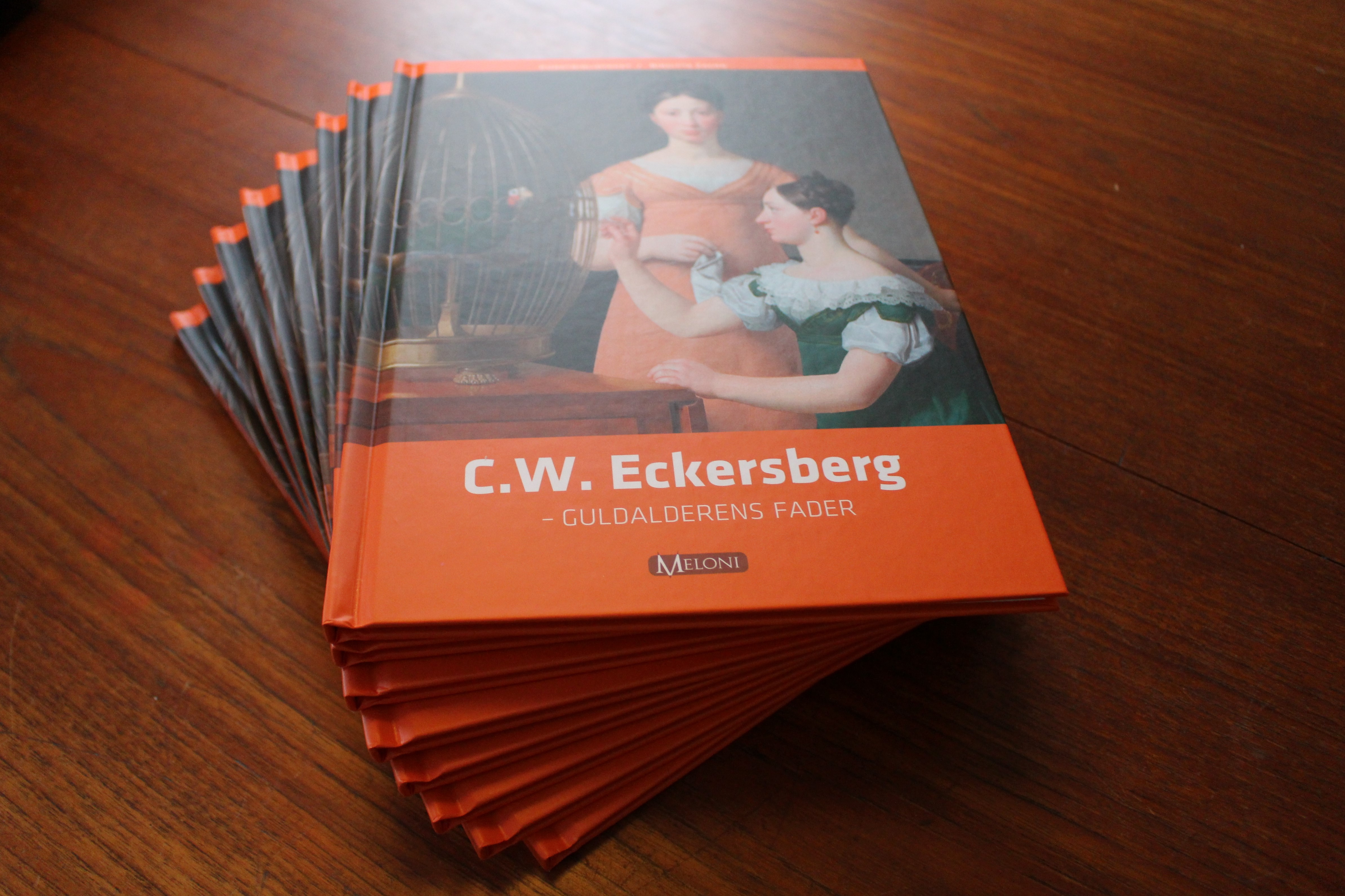 C. W. Eckersberg, forfatter Birgitte Zacho, Meloni